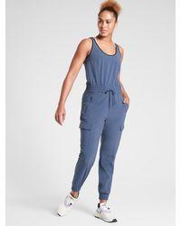 Athleta Unbound Jumpsuit - Blue