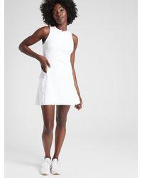 Athleta Match Point Dress - White