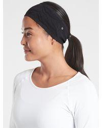 Athleta Seamless Tempo Headband - Black