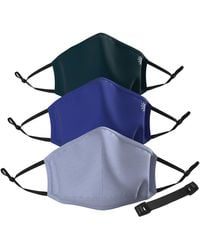 Athleta Made To Move Mask 3 Pack - Blue