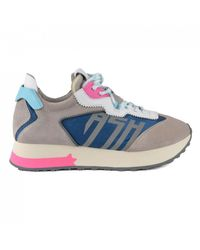 Ash Tiger Running Style Sneakers - Grey