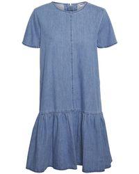 Noisy May Emilia Ss Dress , Title:meddenim - Blue