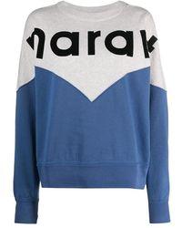 Isabel Marant Houston Sweatshirt - Blue