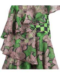 Silvian Heach Dress Maliumba Pgp20632ve - Green