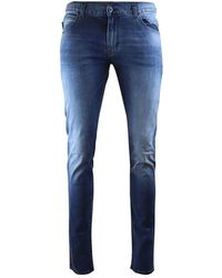 Emporio Armani J10 Extra Slim Fit Jeans - Blue