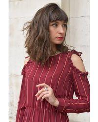 Custommade• - Karolina Cabernet Dress - Lyst