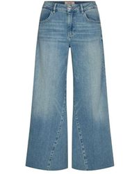 Mos Mosh Reem Swift Cropped Jeans - Blue