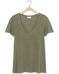 American Vintage American Vintage Kobi57 T-shirt Vintage Olive - Green