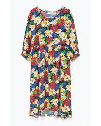 American Vintage - Coolbridge Dress In Pop Flower Print - Lyst