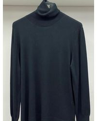 Riani Long Sleeved Polo Necked Sweater 887850/7673 999 - Blue