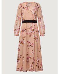 BOSS by Hugo Boss Outlet , marella Cutter Long Sleeve Maxi Dress Colour: Pink, - White