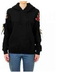 Adidas Trefoil Logo Hoodie Felpa Donna Fuxia