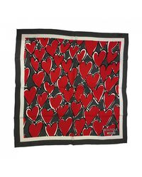 Boutique Moschino Scarf - Red