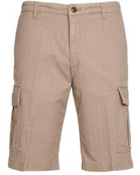 Briglia 1949 Beige Other Materials Shorts - Brown