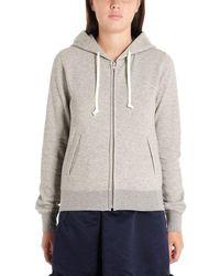 Comme des Garçons Comme Des Garã‡ons Women's Ndt0090511 Grey Cotton Sweatshirt