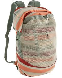 Patagonia Planing Roll Top Pack 35l Water Ribbons New Adobe - Multicolor