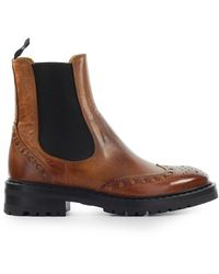 Barracuda Leather Chelsea Boot - Brown