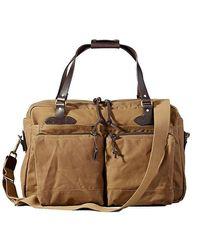 Filson 48 Hour Tin Cloth Duffle Bag - Brown