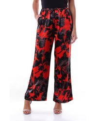 Dries Van Noten - Trousers Palazzo Pants Women Red And Black - Lyst