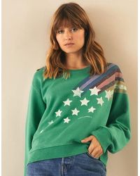 Leon & Harper Sortie Comet Sweatshirt - Rio - Green