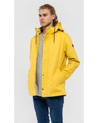 RVLT | Hooded Light Jacket 7286 | - Yellow