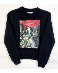 Off-White c/o Virgil Abloh caravaggio Arrows Sweatshirt - Black
