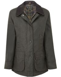 Barbour - Women's Classic Beadnell Wax Jacket - Lyst