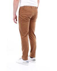 Briglia 1949 Beige Cotton Pants - Brown