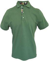Stenströms Regular Fit Polo Shirt 420 - Green