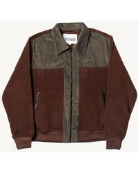 Pilgrim Piilgrim Godspeed Fleece Jacket - /olive - Brown