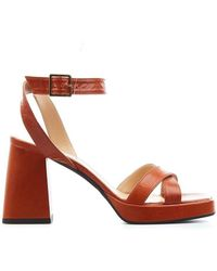Giampaolo Viozzi Women's Yel3305sambuca11cuoio Brown Other Materials Sandals