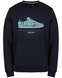 Weekend Offender Jeans Sweat - Navy - Blue