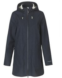 Ilse Jacobsen Raincoat - Dark Indigo - Blue