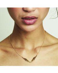 Rachel Jackson - Sunrays Necklace Silver - Lyst