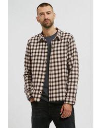 ARMEDANGELS Mens Paata Vanilla Ice Check Shirt - Multicolour