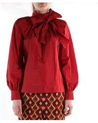 Maliparmi Shirt Taf.30032 Burgundy Jm450360036 - Red
