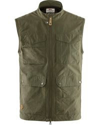 Fjallraven Fjallraven Travellers Mt Vest - Laurel Green