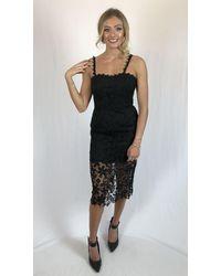 Jarlo Dress Amber - Black