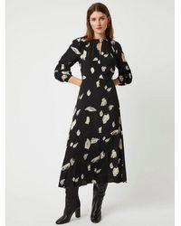 Great Plains Winter Umbra Dress In Black