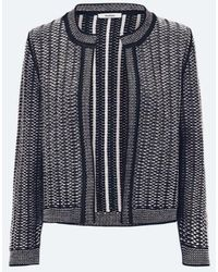 Riani Knitted Jacket In Boucle 307310-7891 - Black