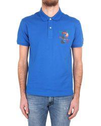Brooksfield Polo Shirt Men Blue