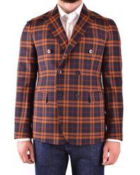 Brian Dales Wool Blazer - Multicolour