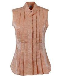 Eleventy Cotton Shirt - Pink