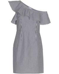 2nd Day - Sunset Dress In Halogen Stripe - Lyst