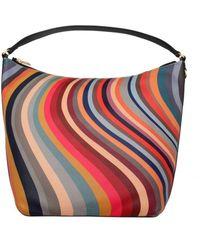 Paul Smith Hobo Swirl Bag Os, Colour: Swirl - Multicolour