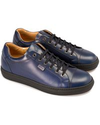Brioni Blue Sneakers