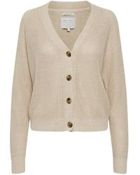 Part Two Belle Cardigan - Natural
