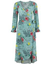 POM Amsterdam Sp6266 Dress - Sky Mountain - Blue
