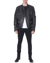 Belstaff Leather Jacket - Black