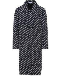 Vetements Nylon Raincoat - Black